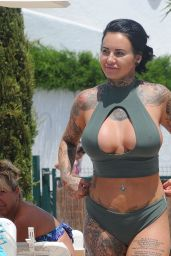 Jemma Lucy in Bikini - Holiday in Ibiza 09/12/2017