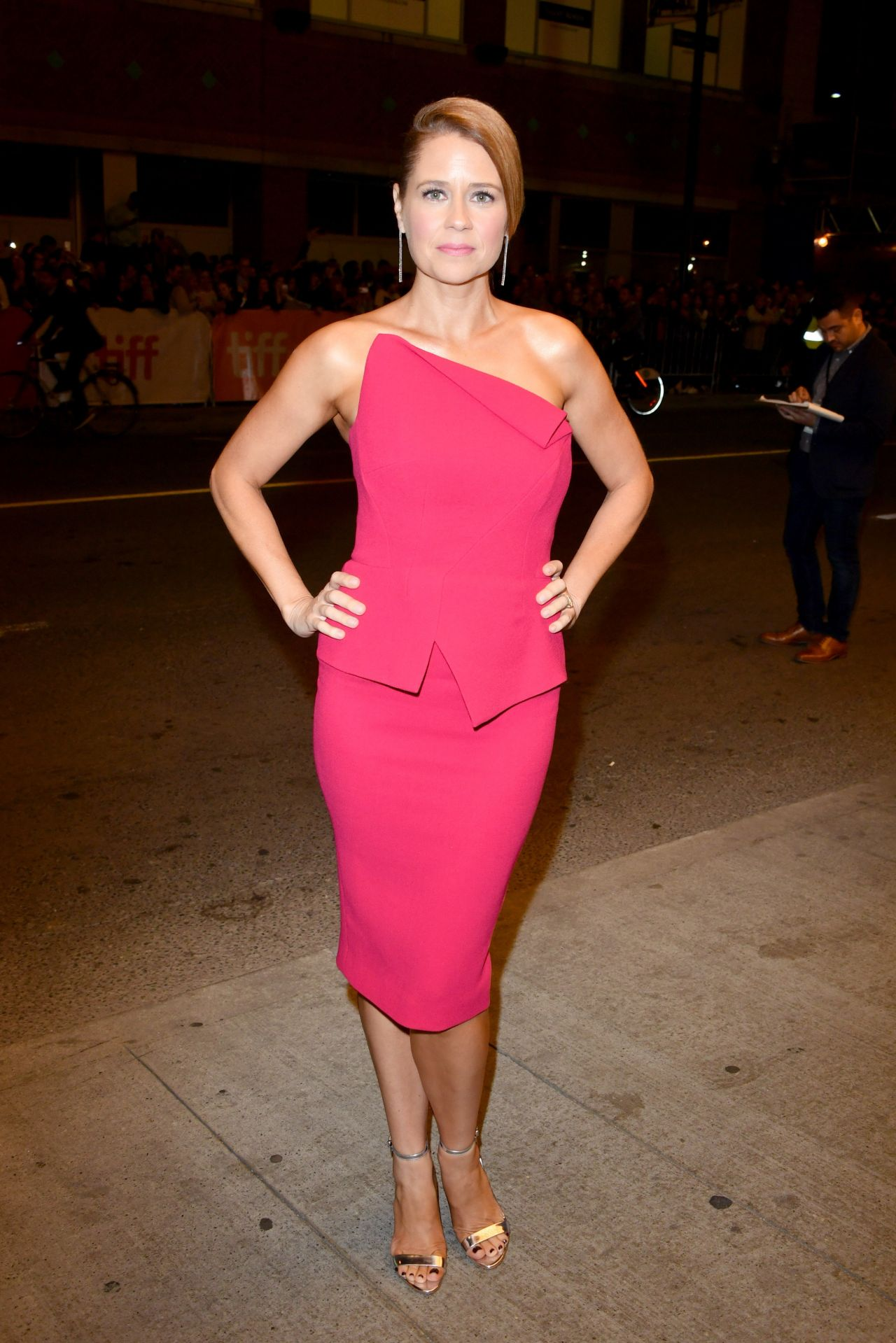 Jenna Fischer Quot Brad S Status Quot Premiere At Toronto