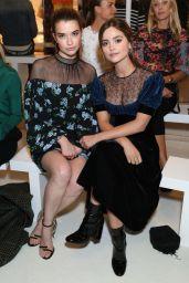 Jenna-Louise Coleman - Emilia Wickstead Fashion Show in London 09/18/2017