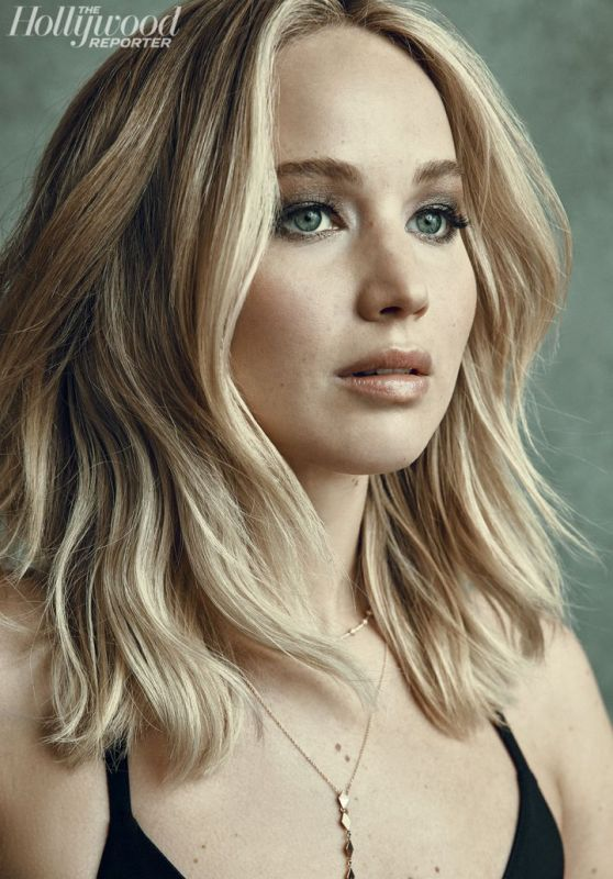 Jennifer Lawrence - The Hollywood Reporter Portrait Studio at TIFF 2017