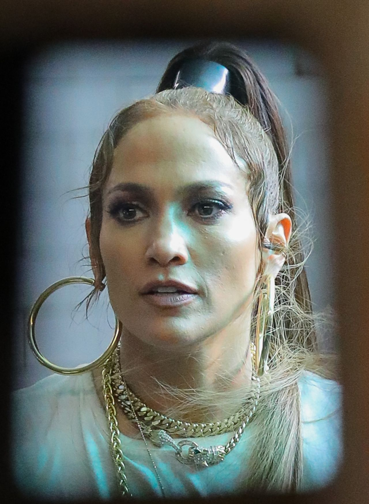 "Jennifer Lopez - Filming Her New Music Video ""Amor"" in NYC ..."