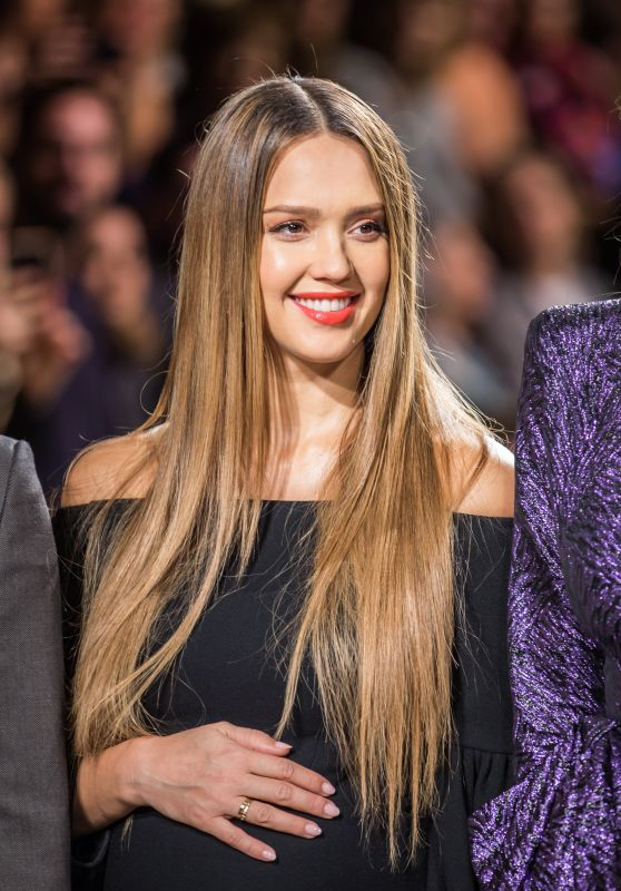 Jessica Alba at Project Runway Show – NYFW in New York City 09/08/2017
