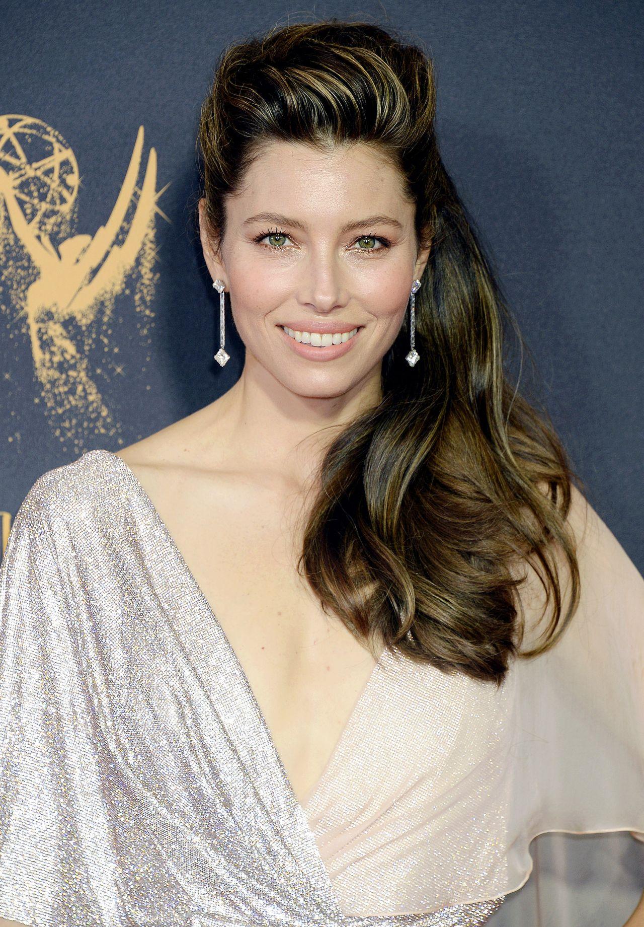 Jessica Biel – Emmy Awards in Los Angeles 09/17/2017