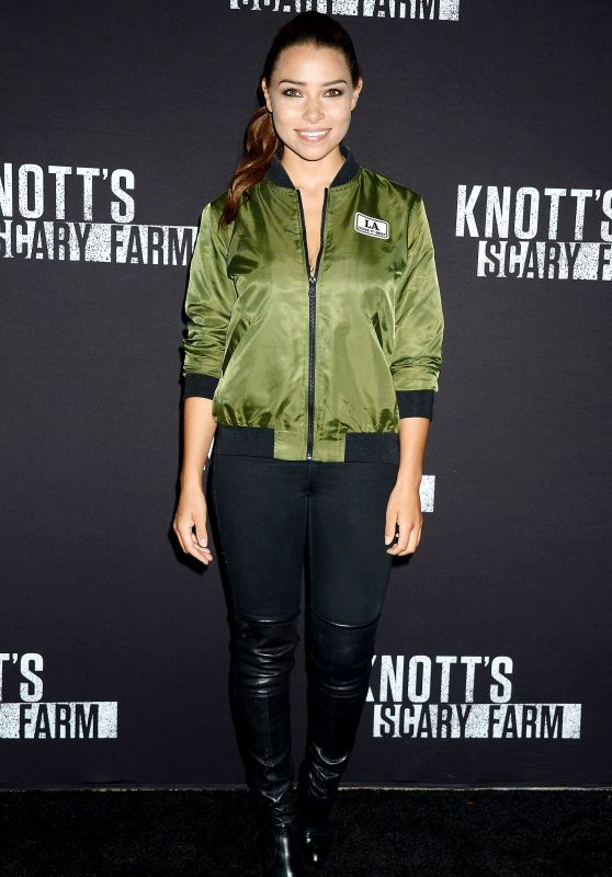 Jessica Parker Kennedy – Knott's Scary Farm Celebrity Night in Buena Park 09/29/2017
