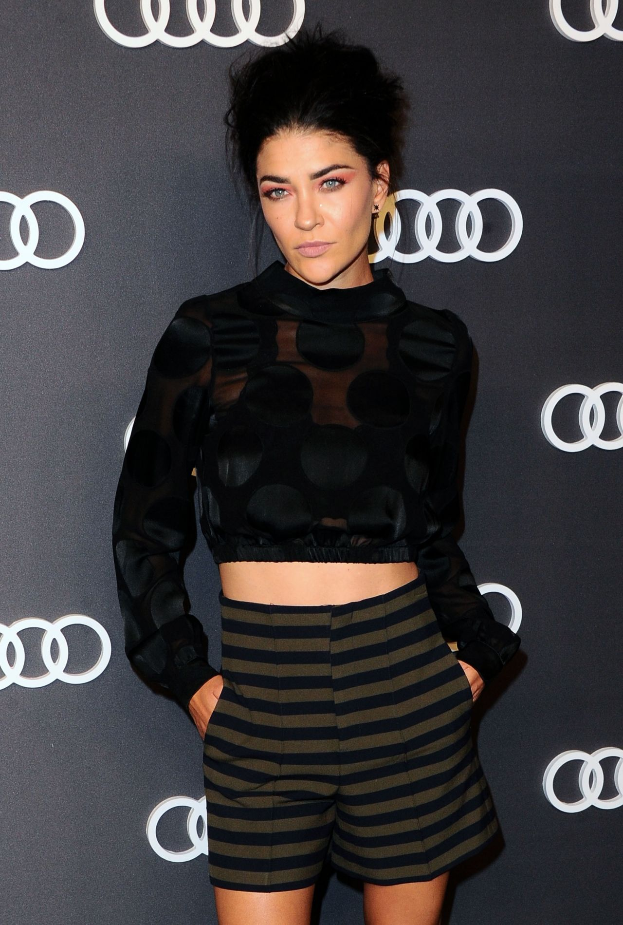 Jessica Szohr – Audi Emmy Party in Los Angeles 09/14/2017