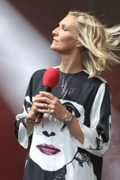 Jo Wiley at BBC Radio 2 in the Park, London 09/10/2017