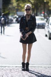 Josephine Skriver Cute Style - Paris, France 09/29/2017