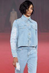 Jourdan Dunn – Off-White Fashion Show in Paris 09/28/2017