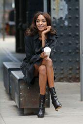 Jourdan Dunn - Photoshoot for Vogue Magazin in New York, June 2017