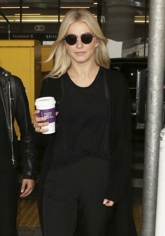 Julianne Hough - Arriving at LAX in Los Angeles 09/08/2017