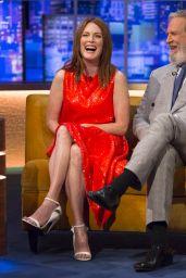 """Julianne Moore - """"The Jonathan Ross Show"""" in London, UK 09/16/2017"""