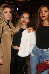 """Juliette Saumagne, Lucie Lebrun & Elisa Paris – """"FIFA 2018"""" Game Launch Party in Paris 09/25/2017"""