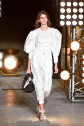 Kaia Gerber - Isabel Marant Fashion Show in Paris 09/28/2017