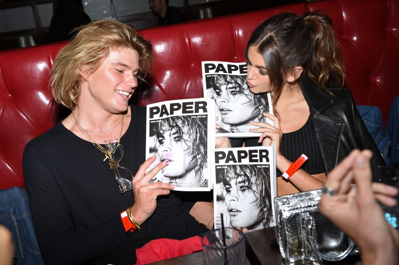 Kaia Gerber – Paper Magazine Beautiful People Issue Release Party in NYC 09/11/2017