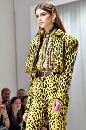 Kaia Gerber - Versace Show in Milan 09/22/2017
