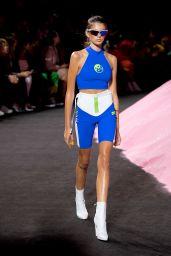 Kaia Gerber Walks in Rihanna