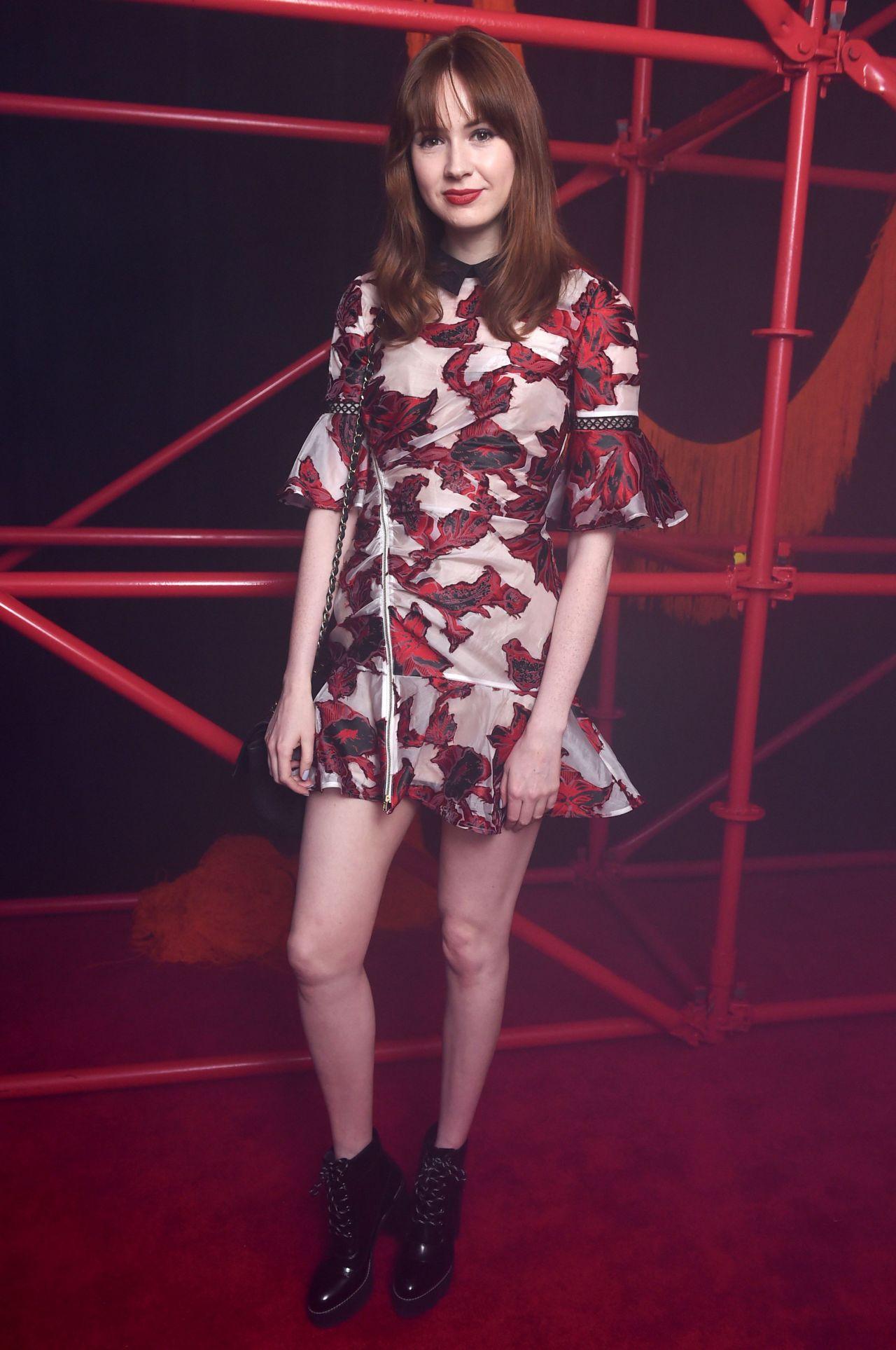 Karen Gillan - Calvin Klein Show After Party - NYFW 09/08/2017