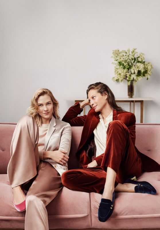 Karlie Kloss & Christy Turlington - Burns Front Cole Haan