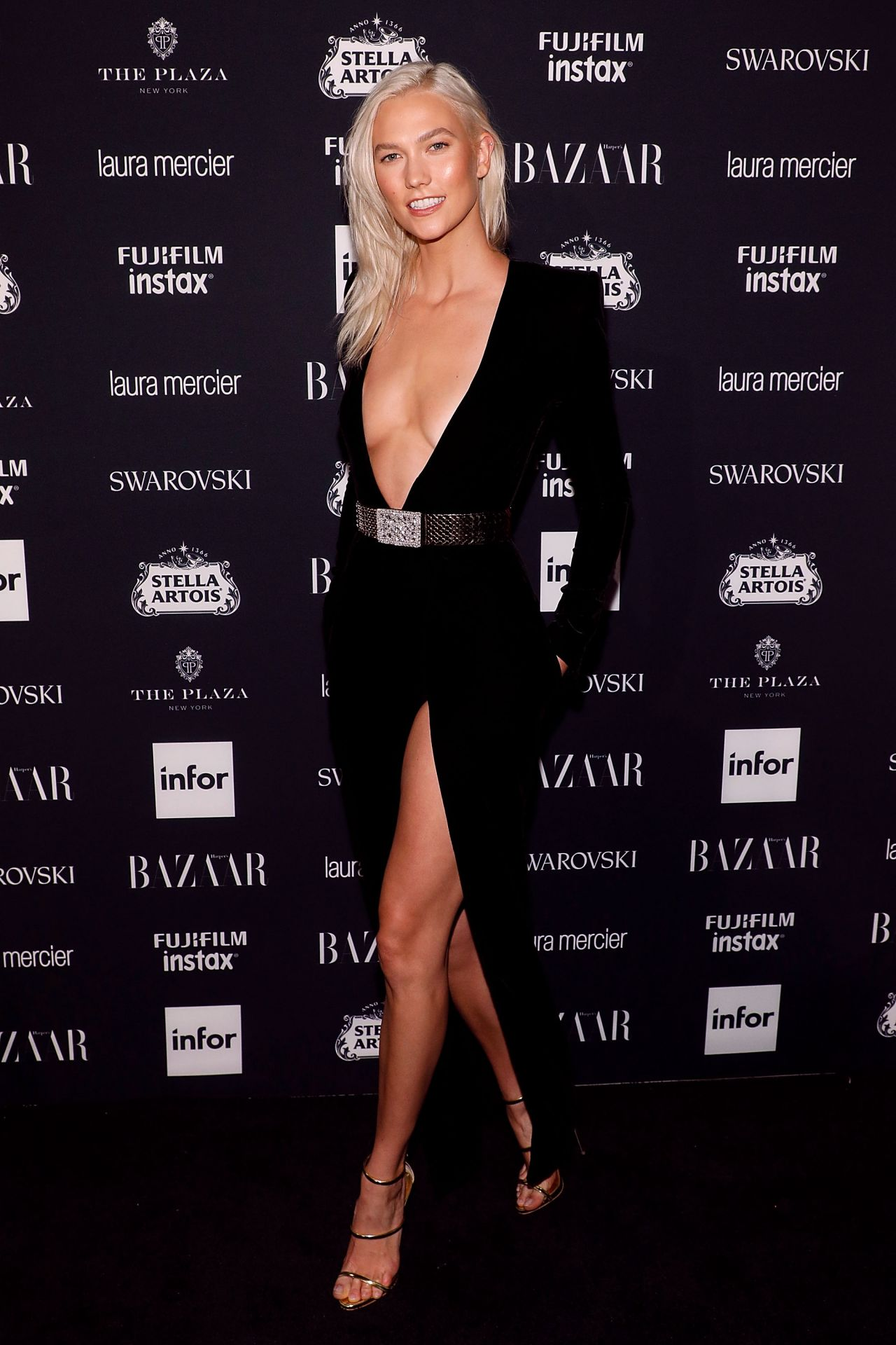 Karlie Kloss RAVISHING at Harper's Bazaar ICONS Party