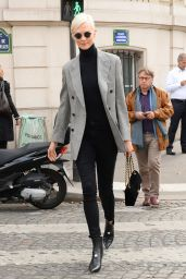Karlie Kloss Style - Out in Paris 09/27/2017