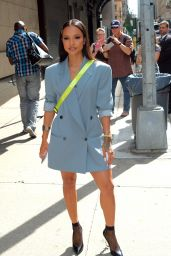 Karrueche Tran - Made an Appearance at The Wendy Williams Show in New York 09/21/2017
