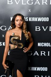 "Kat Graham – Bvlgari Celebrates ""Serpenti Forever"" in Milan 09/20/2017"