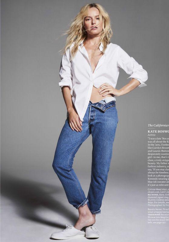 Kate Bosworth - Elle Magazine USA October 2017