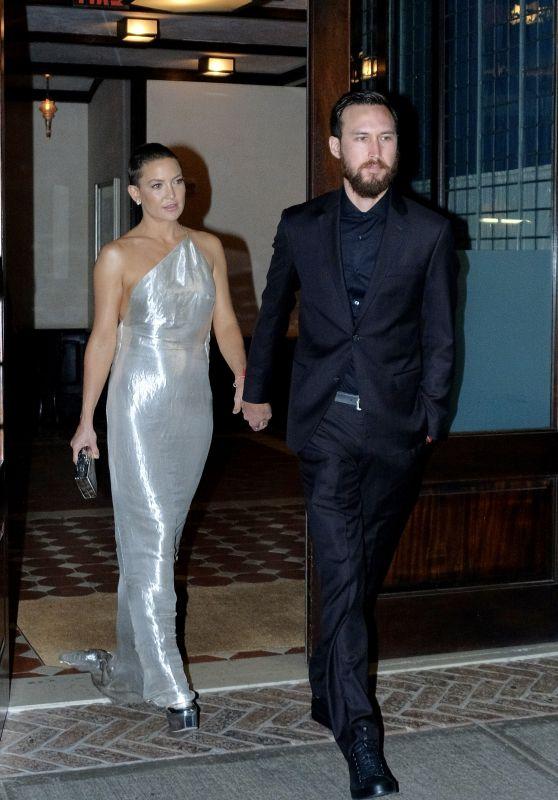 Kate Hudson - Leaving Her Hotel in New York 09/24/2017