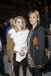 Kate Moss – Saint Laurent Fashion Show in Paris 09/26/2017