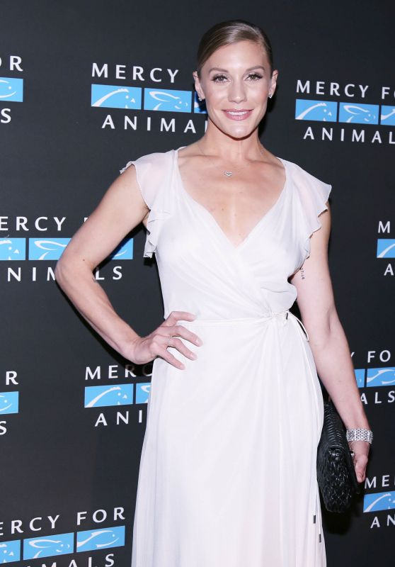 Katee Sackhoff – Mercy For Animals Annual Hidden Heroes Gala in New York 09/23/2017