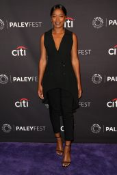 """Keke Palmer – Promote """"Berlin Station"""" at The Paley Center For Media in Beverly Hills 09/17/2017"""