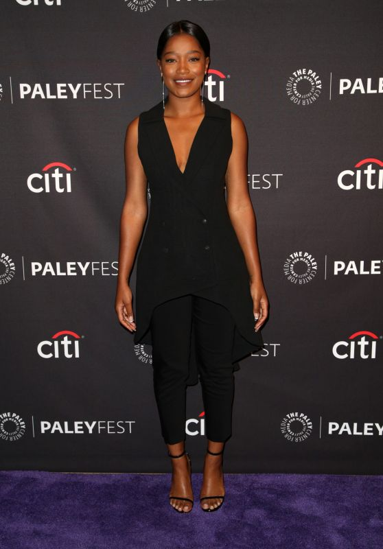 "Keke Palmer – Promote ""Berlin Station"" at The Paley Center For Media in Beverly Hills 09/17/2017"
