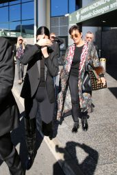 Kendall Jenner - Arrives at Malpensa Airport in Milan 09/20/2017