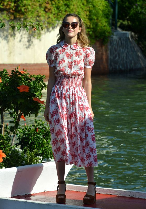 Kiernan Shipka – 74th Venice International Film Festival, Italy 09/02/2017