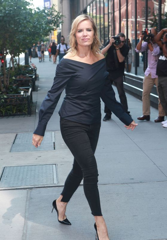 Kim Dickens Style - Out in NYC 09/05/2017