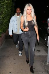Kim Kardashian - Leaving Giorgio Baldi Restaurant in Santa Monica 09/24/2017