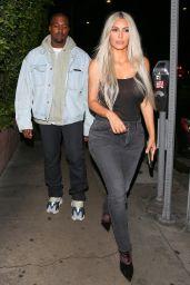 Kim Kardashian - Leaving Giorgio Baldi Restaurant in Santa Monica 09/24/2017