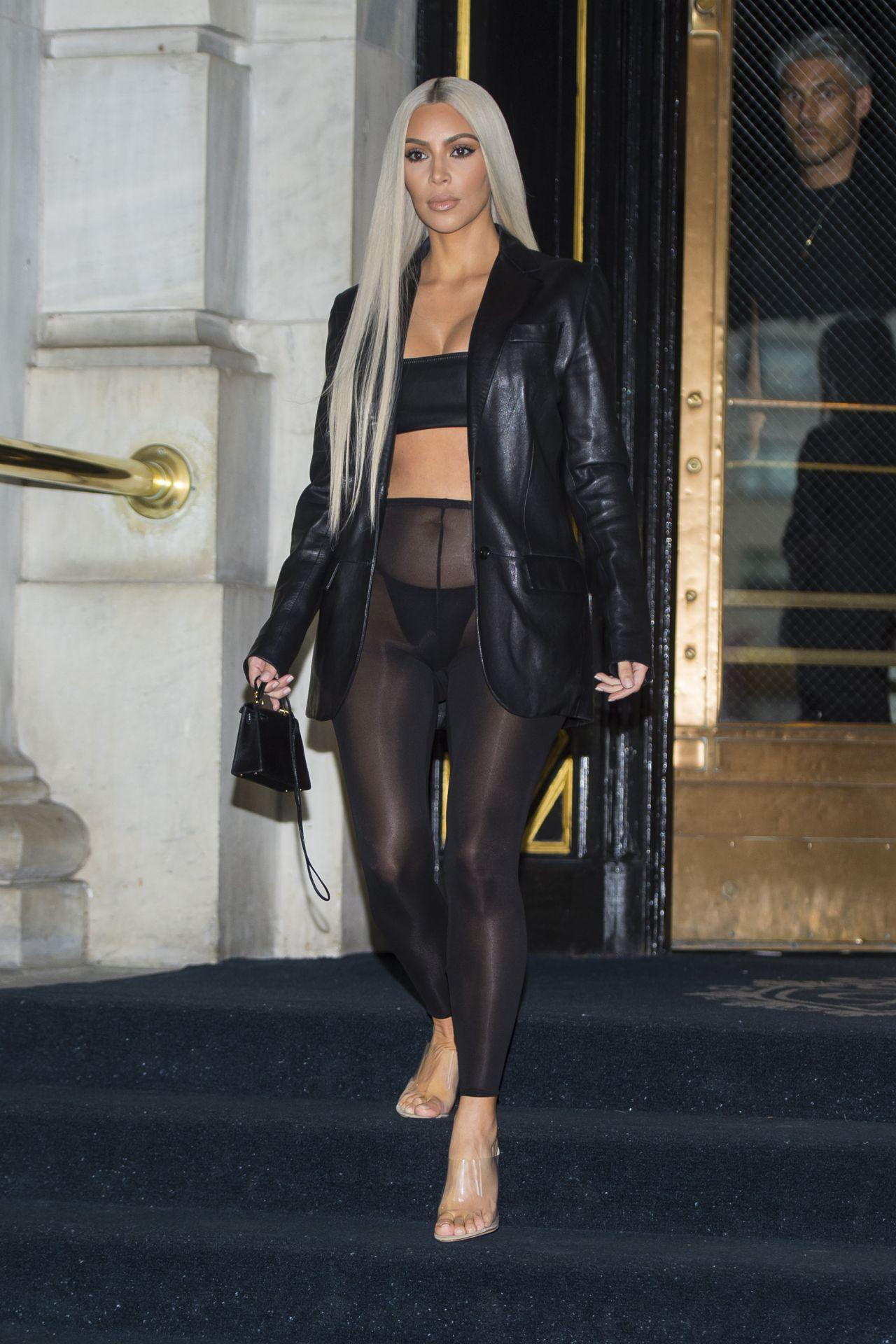 Kim Kardashian Style - New York City 09/08/2017