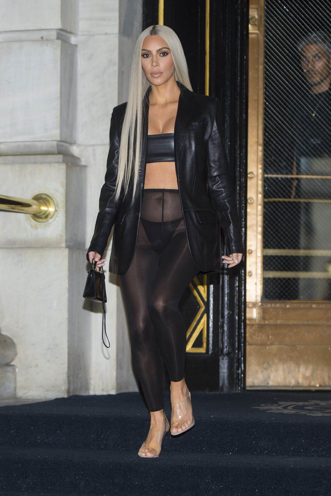 Kim Kardashian Style New York City 09 08 2017