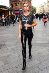 Kimberley Garner - Out in London 09/20/2017