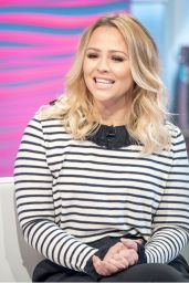 Kimberley Walsh - Lorraine TV Show in London 09/26/2017