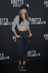 Kira Kosarin – Knott's Scary Farm Celebrity Night in Buena Park 09/29/2017