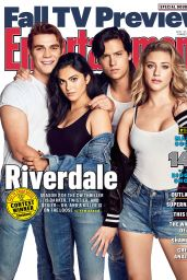 Kj Apa, Camila Mendes, Cole Sprouse and Lili Reinhart - Entertainment Weekly, Fall 2017 Issue