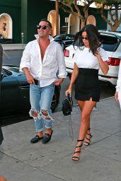 Kourtney Kardashian & Larsa Pippen - Out in West Hollywood 09/13/2017