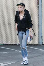 Kristen Stewart Street Style - Out in Los Angeles 09/20/2017