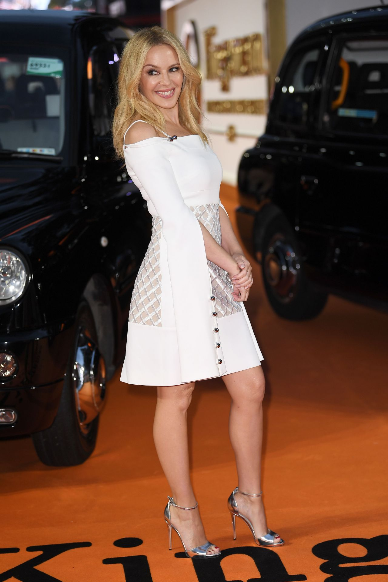 Kylie Minogue Kingsman The Golden Circle Premiere In