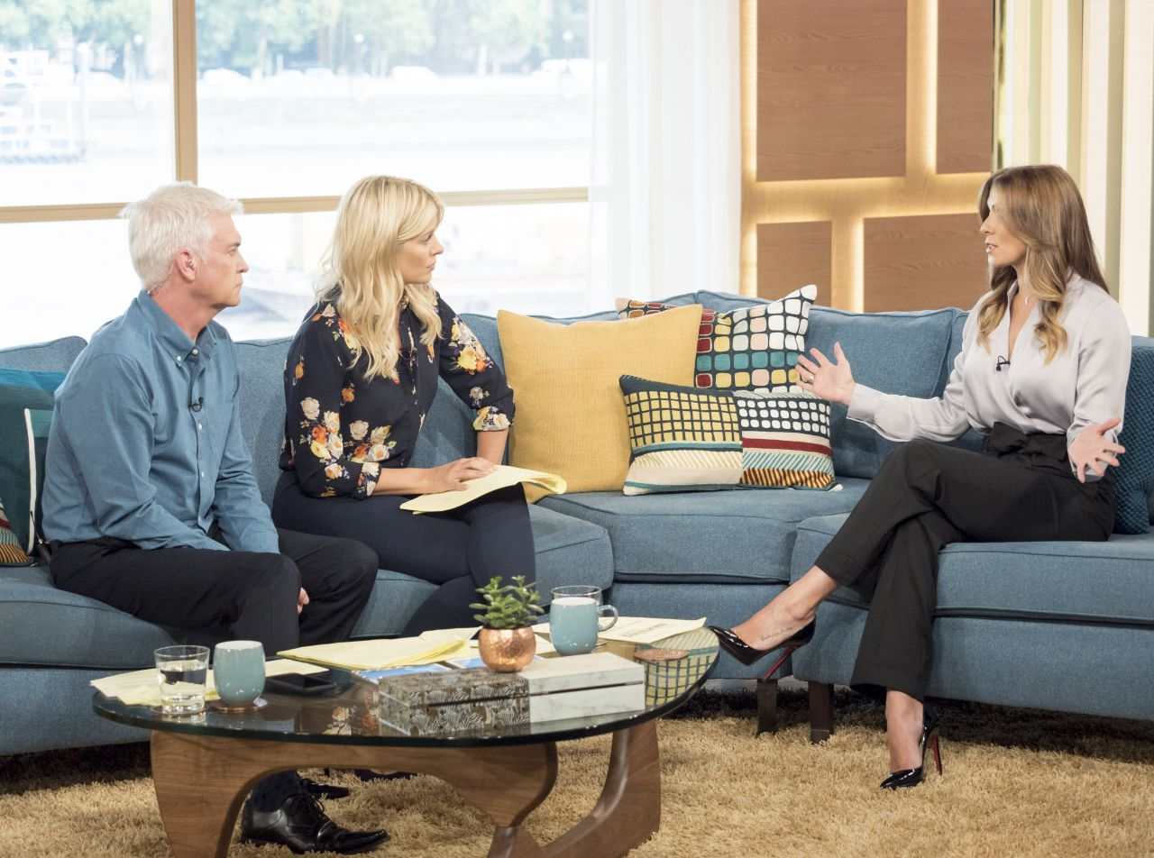 Kym Marsh Quot This Morning Quot Tv Show In London 09 11 2017