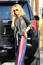 Kyra Sedgwick Arriving to Appear on the Jimmy Kimmel Live! Show in Hollywood 09/20/2017