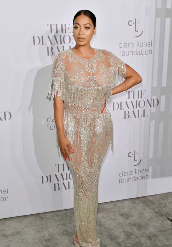La La Anthony – Rihanna's Clara Lionel Foundation Diamond Ball in NY 09/14/2017