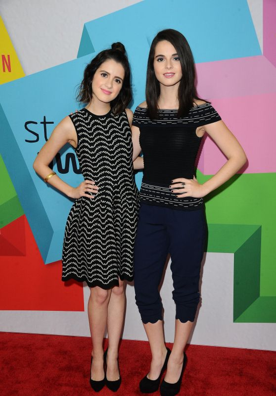 Laura Marano & Vanessa Marano – 2017 Streamy Awards in Beverly Hills